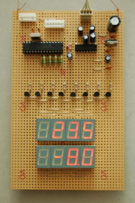 Digital Thermometer And Clock Project Microcontroller